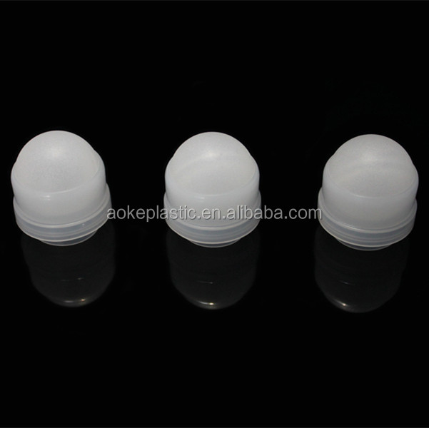 25.4mm large deodorant bottle parts plastic ball and holder