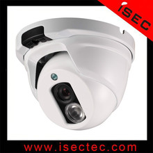 Indoor 30M IR Distance Fixed Lens Dome Analog CCTV Camera