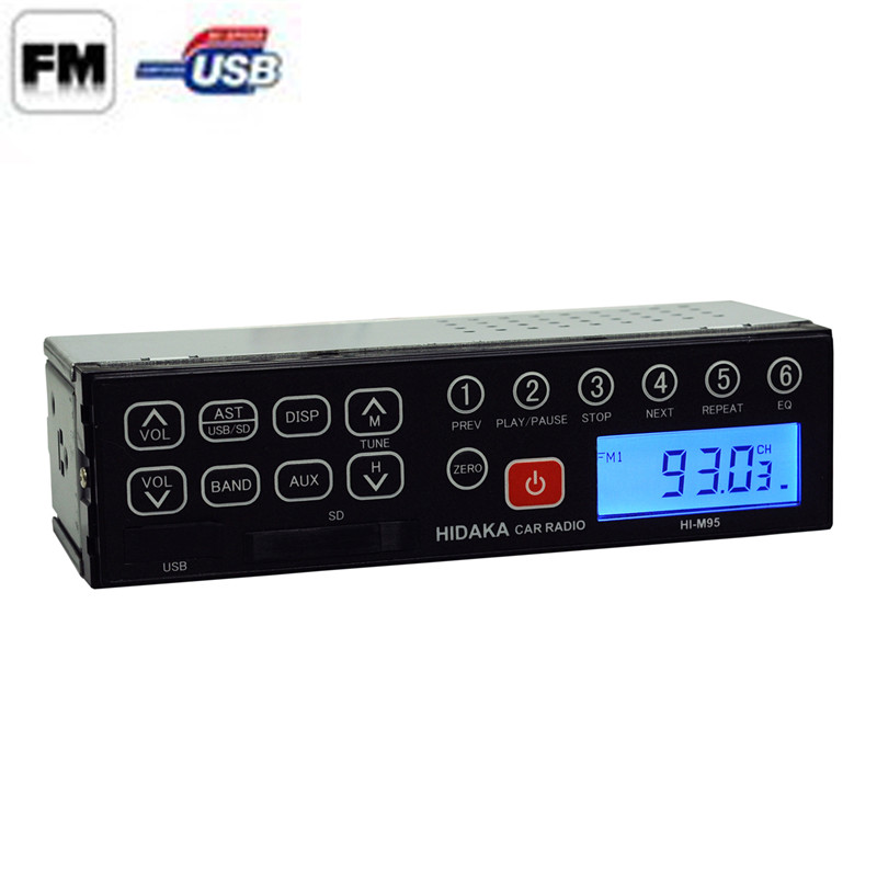 24 Volt Excavator Radio with USB SD Car Radio Car Stereo for fm transmitter car kit