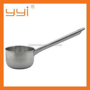 14-18cm kitchenware long handle magnetic Stainless steel water ladle/soup ladle
