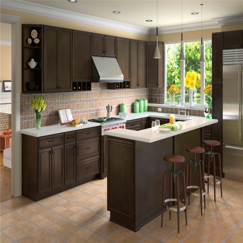 Custom integrated kitchen furniture with low price