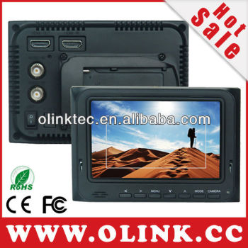 "Olink 5"" On Camera DSLR LCD Monitor with HDMI input&output and Composite Inputs supporting Camera Top Mount (FM5D/O)"