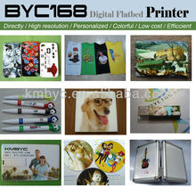 Good quality multifunction a4 digital flatbed eco solvent printer 30mm for cell phone/pen/card/t shirt