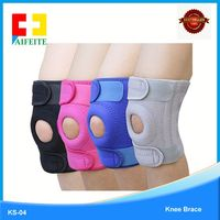 hot selling non-slip strip weight lifting knee sleeve