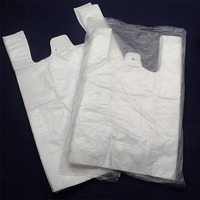 ISO plastic t-shirt bag china manufacture for shopping