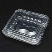 Top sale smalle clear plastic display boxes plastic container box for fruits and blueberry
