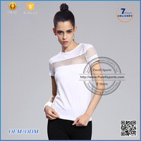 Hot 2016 Women Cotton White black colorful T Shirt With Side Slit Custom Digital Printed Clothes