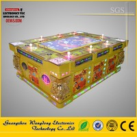 Hot sale vietnam shooting fish game machine, catch toy fish game machine form Guangzhou