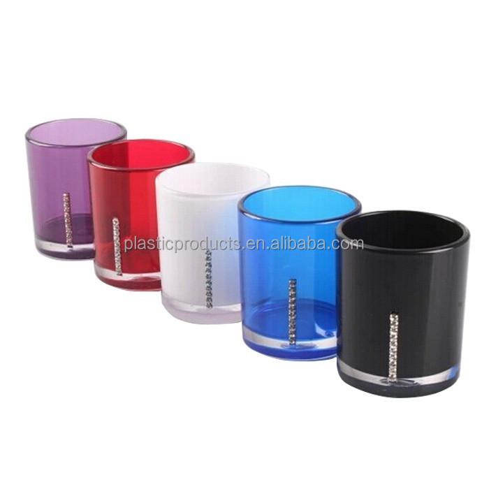 home accessory insulated double wall plastic tumbler