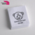 Logo custom printing design satin 100% cotton wool wash care label