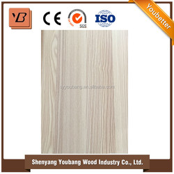 wood grain high gloss mdf paint for wardrobe doors