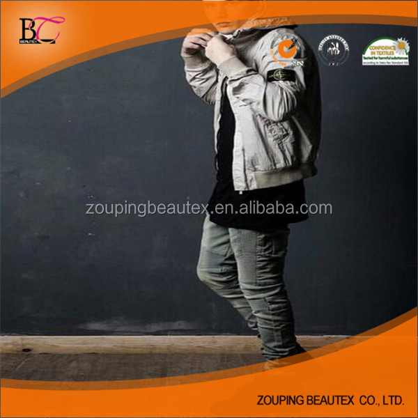 High quality men pencil pants and boys biker jeans