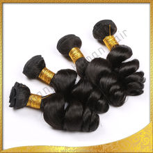 10-30 inch abundant stock grade 7A can be dyed and restyled virgin human hair bundles