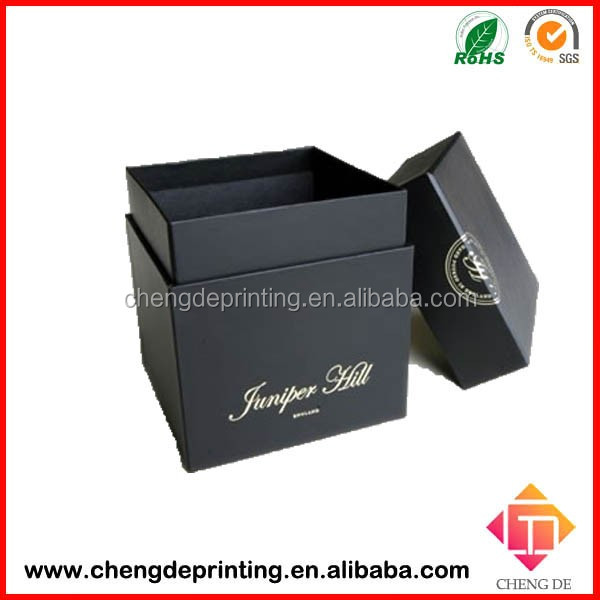 High Quality Packaging Factory Customize Large black Gift Boxes