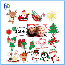 Christmas Tattoos For Kids Happy Holiday Merry Christmas Temporary Stickers