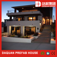 Hot!!!luxury steel building prefab villa /prefabricated house&home(Manufacturer)