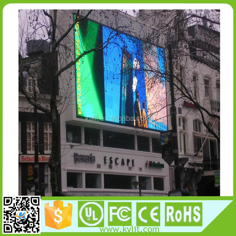 Cheap P10 Used advertizing full color High build led screen