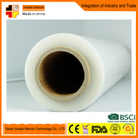 Waterproof LLDPE Transparent Plastic Film On Rolls Stretch Film