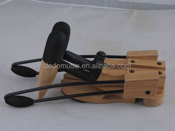 Foldable guitar Wooden stand / travel guitar stand