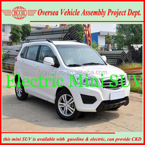 LHD rear wheel drive electric SUV 5 seats car in coming new year 2015