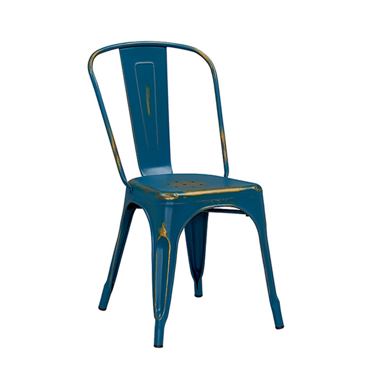 Zhejiang furniture vintage metal restaurant chairs
