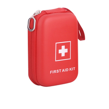 emergency hard medical case with strap first aid kit box for outdoor travel