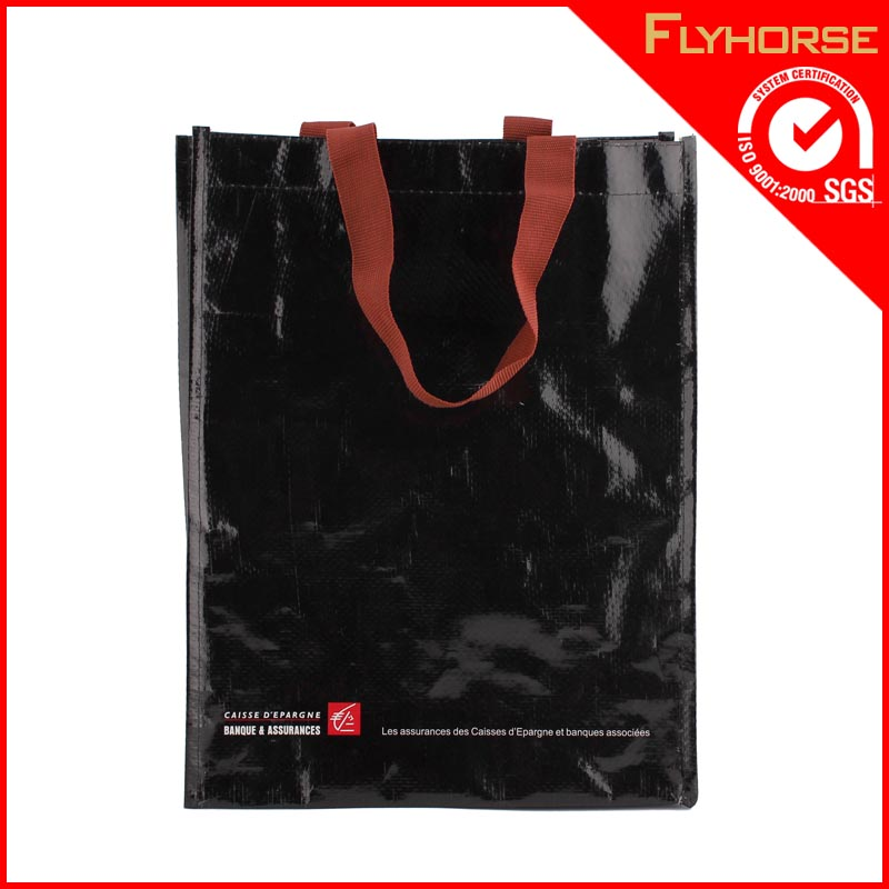New style bulk reusable laminated PP woven shopping bag