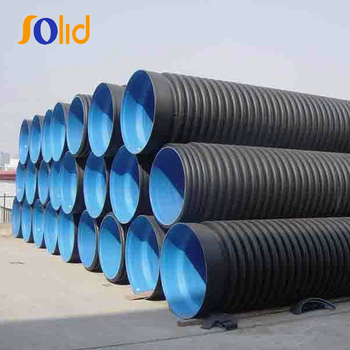 Corrugated Perforated Drainage Polyethylene Plastic Pipe Price