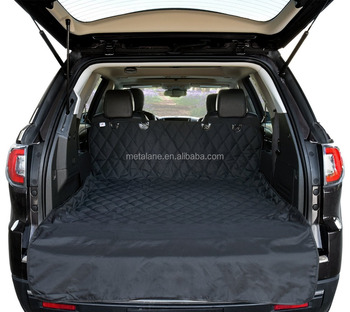 Waterproof Cargo Liner Non Slip Pet Seat Cover For Cars