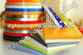 Hot Selling Wood grain PVC edge banding