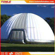 2016 inflatable white dome tent/ inflatable clear dome tent for sale