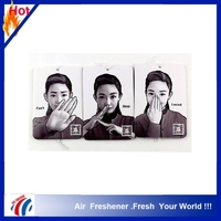 TrueFreshener brand Factory OEM/ODM aroma car air freshener wtih perfume paper wholesale make hanging paper car air freshener