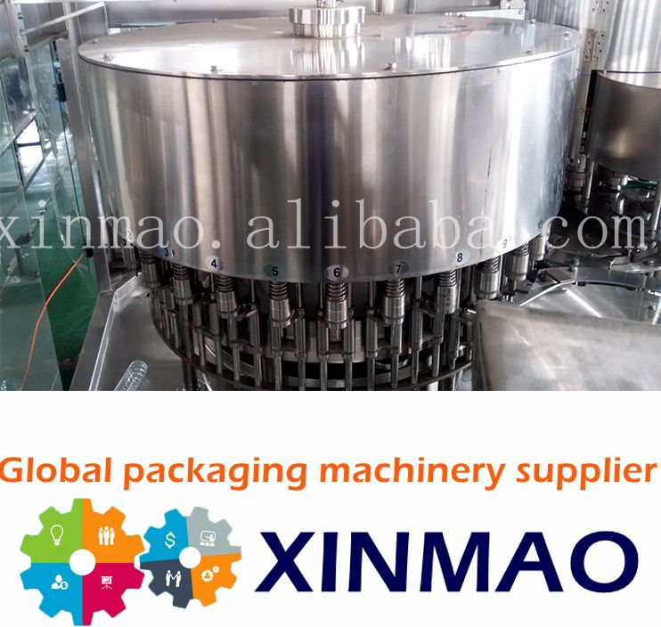 german quality aerated drink filling machine /water filling line