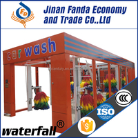 China best price automatic car wash systems automatic tunnel car washer with good warranty