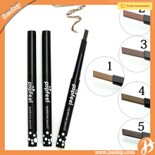 Wholesale price popfeel Waterproof Long lasting Automatic Rotation eyebrow pencil
