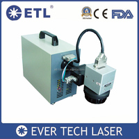 pigeon ring fiber laser marking machine made in china