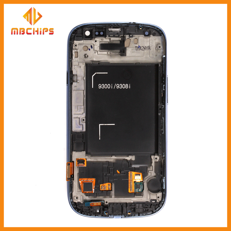 Shenzhen factory LCD touch screen dispaly for samsung galaxy S3 I9300 lcd with digitizer with wholesale price