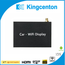 Black car wifi display support airplay multi-screen share wireless car mini mirror link box