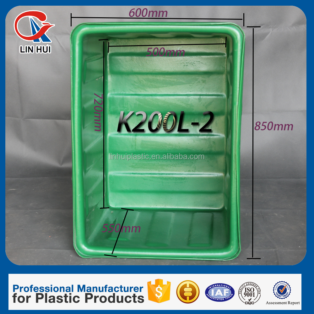 Different size of 200L rotomolding plastic storage barrel with a discount