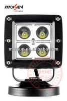 HOT 12W High Quality led head driving lamp, 24V LED driving light for off road car, racing SUV 4x4 auto