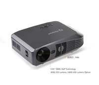 Android Smart Projector with ANSI 250/400 Lumens