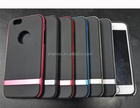Matte TPU & Matte pc Dual Layer Protect Slim Armor Case for iPhone 6 5.5'