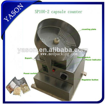 Semi-Automatic SP100-2 Single-Pan tablet and capsule counting machine,tablet Counting Machine YSC