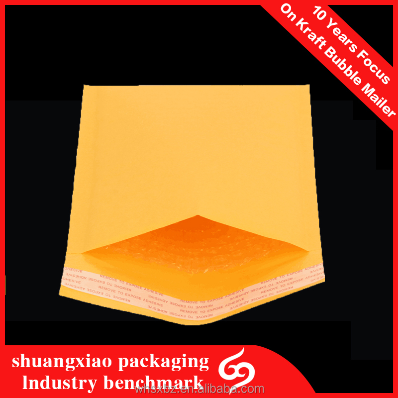 Self Sealing Custom Poly White Bubble Mailers