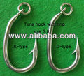 tuna hook with ring, size 3.8
