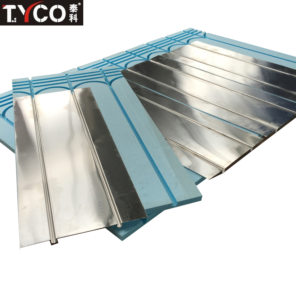 Aluminum Foil/Sheet XPS Greenhouse Underfloor Heating System Fireproof Board