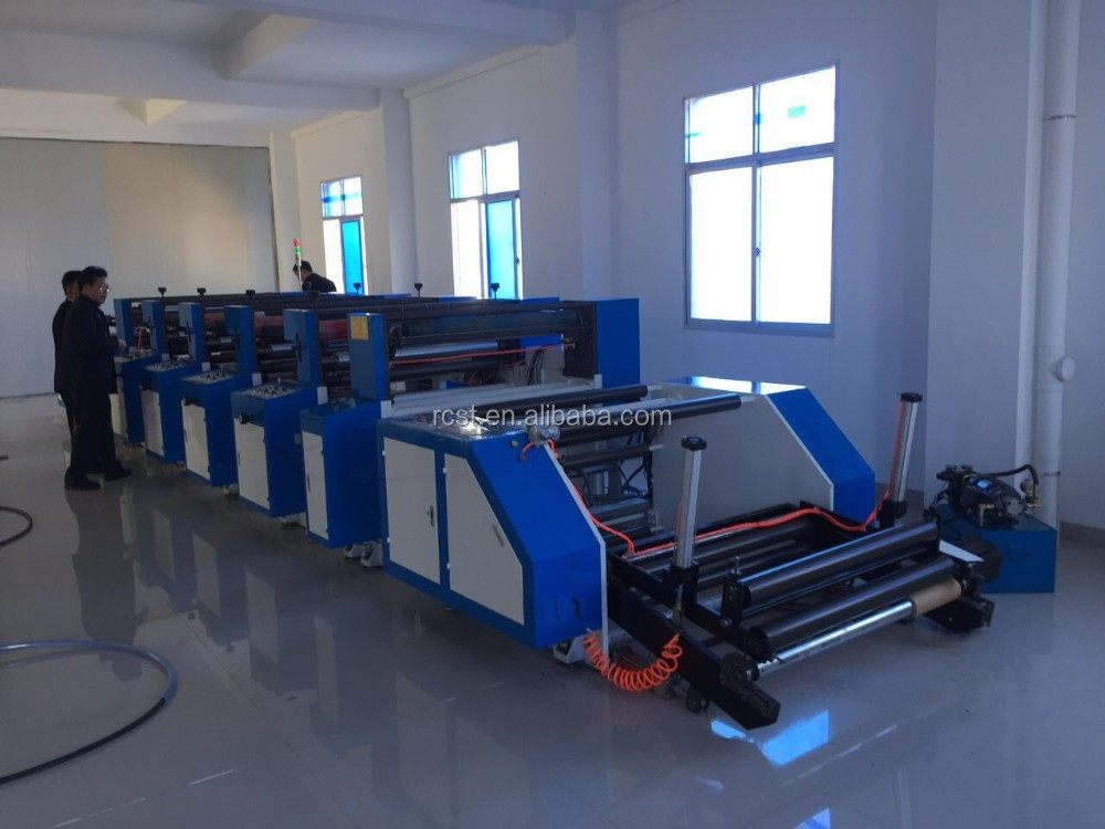 Jumbo Roll Unit Type Flexo Printing Machine