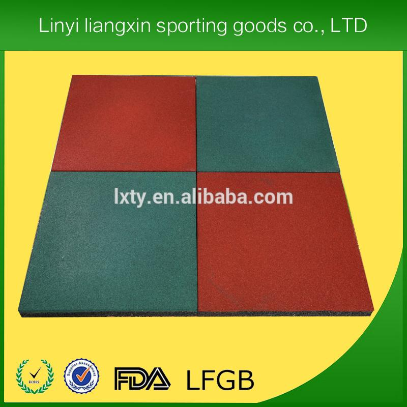 Korea DWF air gym floor/gym rubber floor mat for sale