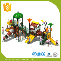Cheap Plastic Outdoor Playgrounds For Children Swing Sets And Slide