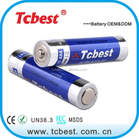 Battery manufacture alkaline 1.5v battery AAA lr03 with thermometer